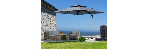 Hanging parasol