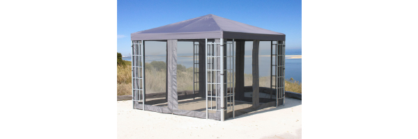 Rank Frame & Leaves Gazebo