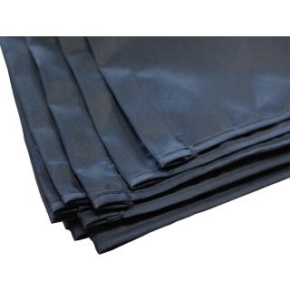 Ersatz Bezug Paravent 4 Teilig 165 x 220 cm Raumteiler Trennwand Sichtschutz Bespannung Blau
