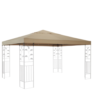 Replacement Roof for Leaves Gazebo 3x3m Beige