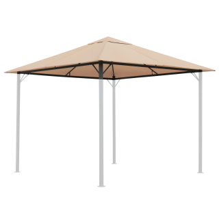 Replacement Roof for Garden Gazebo 3x3m (9,7ft - 9,7ft) Beige