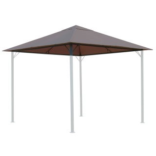 Replacement Roof for Garden Gazebo 3x3m Brown-Gray