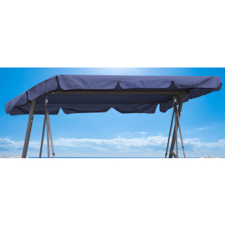 Replacement Roof Garden Swing Blue UV 50 3 Seater Hollywood Swing Cover