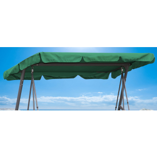 Replacement Roof Garden Swing Green UV 50 3 Seater Hollywood Swing Cover