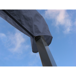 Protective cover stand awning London 4m terrace cover