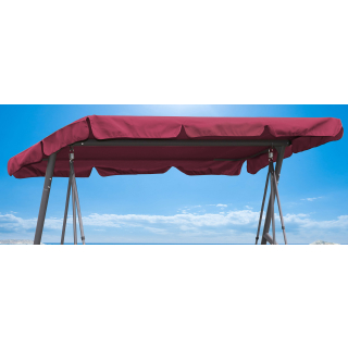 Replacement Roof Garden Swing Bordeaux UV 50 3 Seater Hollywood Swing Cover
