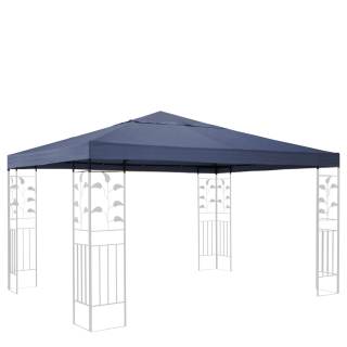 Replacement Roof for Leaves Gazebo 3x3m Gray