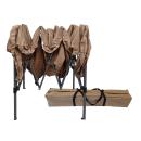 Pop-Up Gazebo 2 x 2 m Beige with 4 Easy fastening sidewalls with 2 zippers