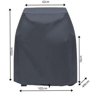 Protective cover grill cover 102x49x103cm Tepro Toronto Grill BBQ