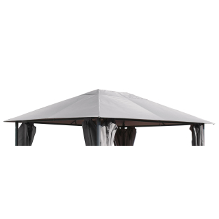 Replacement Roof for Garden Gazebo 3x4m Grey