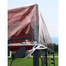 Pavillon Schutzhaube 3x4 m Wasserdicht Transparent