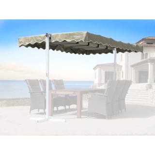Replacement roof stand awning Dubai Beige
