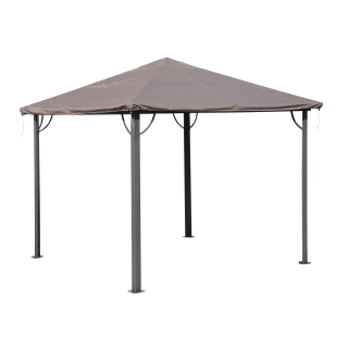 Gazebo Cover Waterproof 3 x 3 m for Fabric and Hardtop Roofs