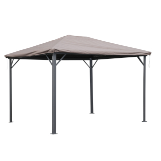Gazebo Cover Waterproof 3 x 3,6 m for Fabric and Hardtop Roofs