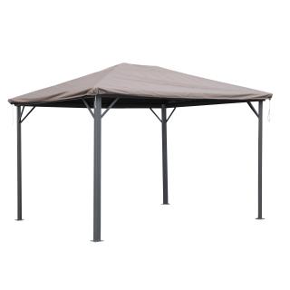 Schutzhülle Wasserdicht 3x3,6m für Stoff und Hardtop Pavillon Ersatzdach Abdeckung