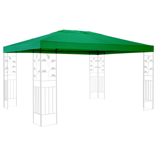 Replacement Roof for Gazebo 3x4m Green