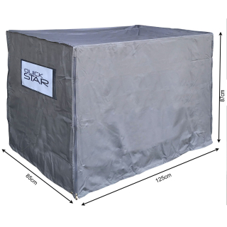 Crate Cover 125x85x95cm Gray Protective cover shipping bag