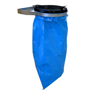 Wall Mounted Trash bag holder Waste Rubbish Carrier Bag Bin 120L