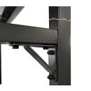 2 Stück Metall Kaminholzregal 130 x 70 x 185 cm mit Wetterschutz Garten Kaminholzunterstand 3,2 m³ / 5 SRM Kaminholzlager Stapelhilfe Aussen