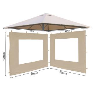 Pavillon Ersatzdach 3x3 # verschiedene Farben # Pavillondach Ersatzdächer Dach
