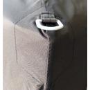 Pop-Up Gazebo 2 x 2 m Smoky Gray with 4 Easy fastening sidewalls with 2 zippers