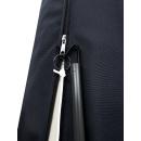 Schirmhülle mit Zugstange 240x39,5/55cm Schwarz für Ampelschirme Marktschirme