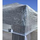 Pavillon Schutzhaube 2x2m Wasserdicht Transparent