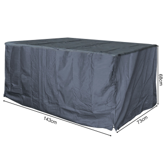 Schutzhülle für Kissenbox 140x70x70cm Auflagenbox Gartenbox Truhe