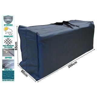 Kissentasche 200x60x65cm Schutzhülle für 8 Rollliegen Auflagen