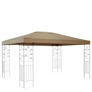 Replacement Roof for Leaves Gazebo 3x4m Beige