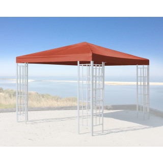 Replacement Roof for Rank Gazebo 3x3m Orange-Red