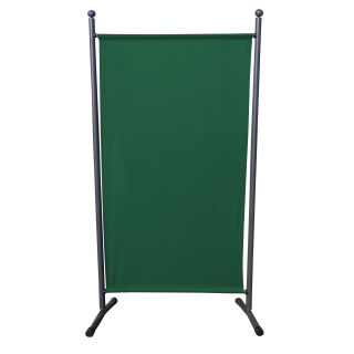 Paravent 180 x 78 cm Fabric Room Devider Garden Partition Wall Balcony Privacy Screen Green