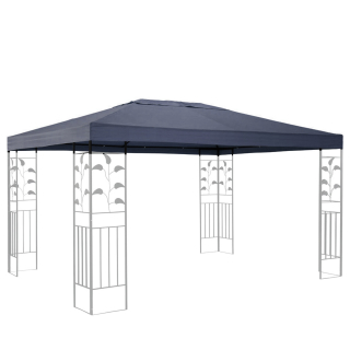Replacement Roof for Leaves Gazebo 3x4m Gray